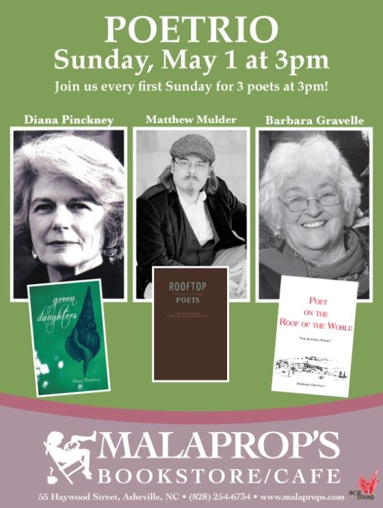 May Poetrio Flyer