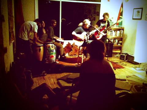Last night at Asheville's Kava Bar