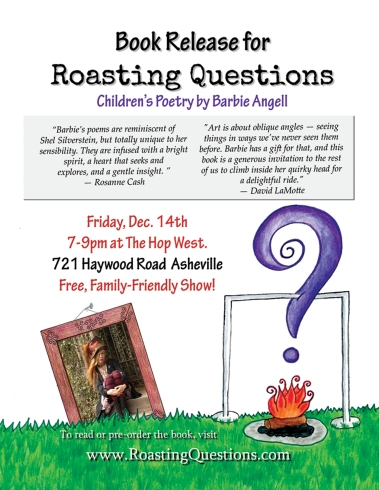 Roasting Questions Flyer