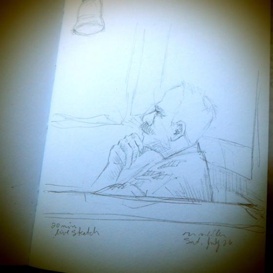 Weekend sketch