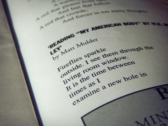 """Poem 2: Reading """"My AmericanBody"""""""